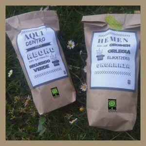 Abono orgánico ecológico paquete de bolsillo
