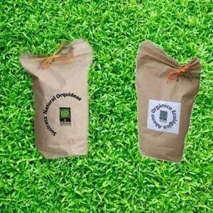 Mix abono orgánico ecológico y sustrato orquídeas Ekaia eko compost